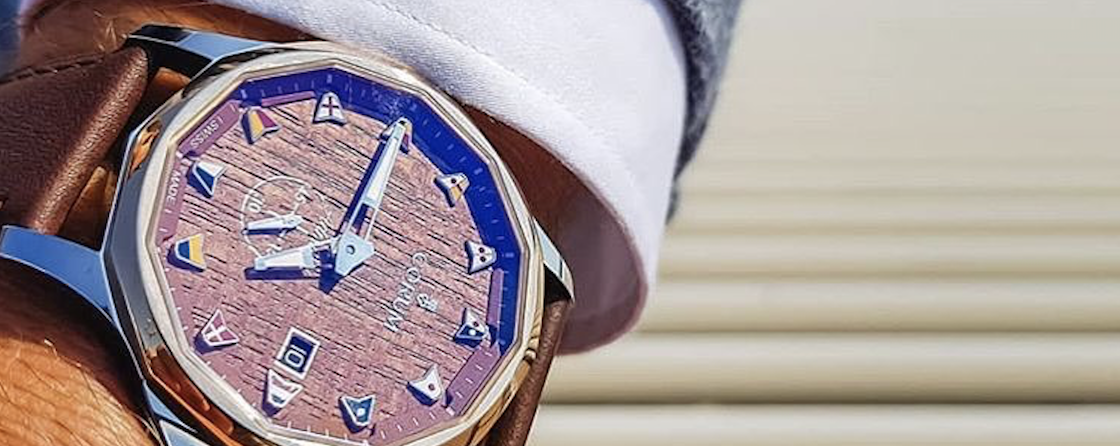 怀揣梦想 扬帆起航-CORUM昆仑表于开学季臻选海军上将Legend 42腕表