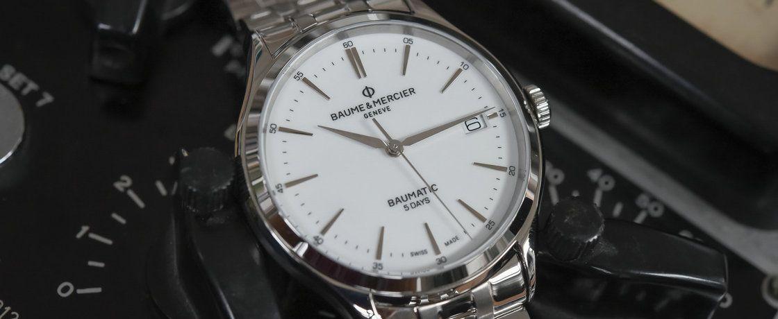 放弃虚幻,拥抱真实——名士克里顿系列Baumatic腕表