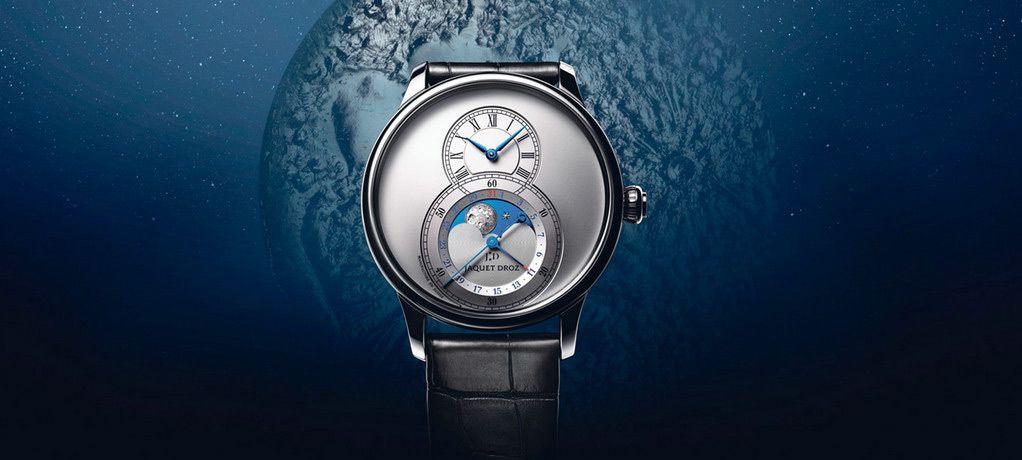 一轮新月在月相大秒针腕表系列上冉冉升起