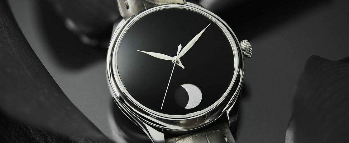 这可能是最像黑洞的手表——亨利慕时勇创者系列Perpetual Moon Concept Vantablack腕表