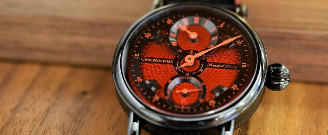 规范之中给你点儿颜色看看——瑞宝Flying Grand Regulator规范指针腕表