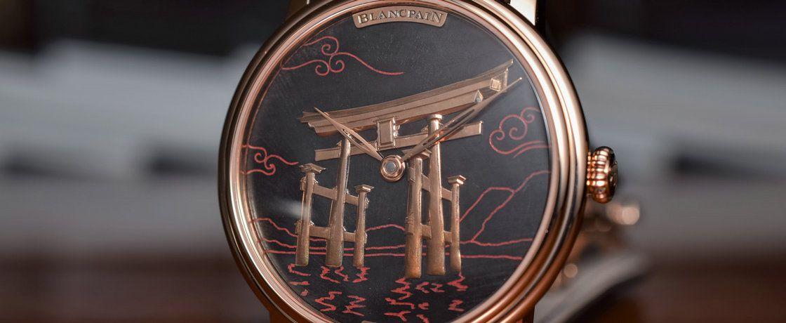 烧出来的碳做表盘——宝珀Métiers d'art艺术大师系列Binchōtan腕表