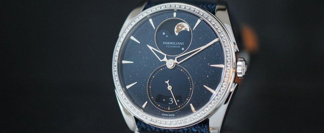 轻抬玉腕,就见银河——帕玛强尼Tonda系列Métropolitaine Sélène Galaxy腕表