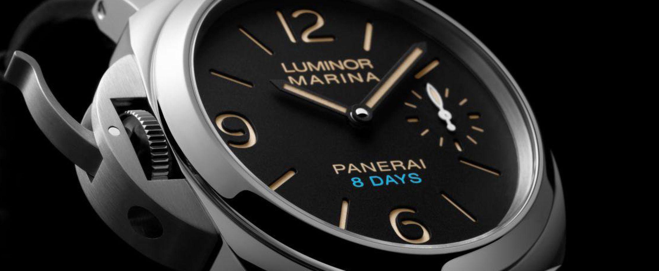 沛纳海发布三枚全新8天动力储备腕表-PAM00795、PAM0096、PAM00797