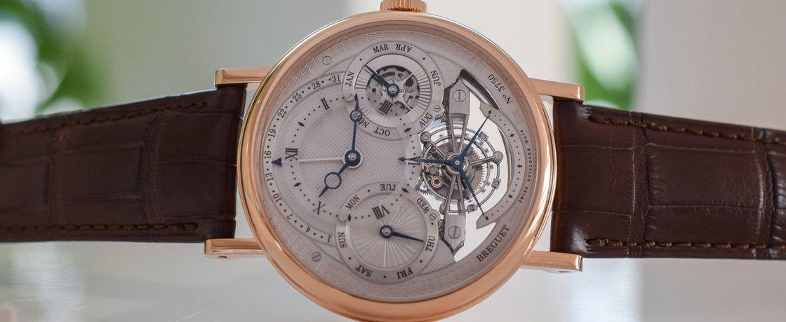 乘时光机器3797,览18世纪制表传奇——宝玑经典复杂系列3797万年历陀飞轮腕表