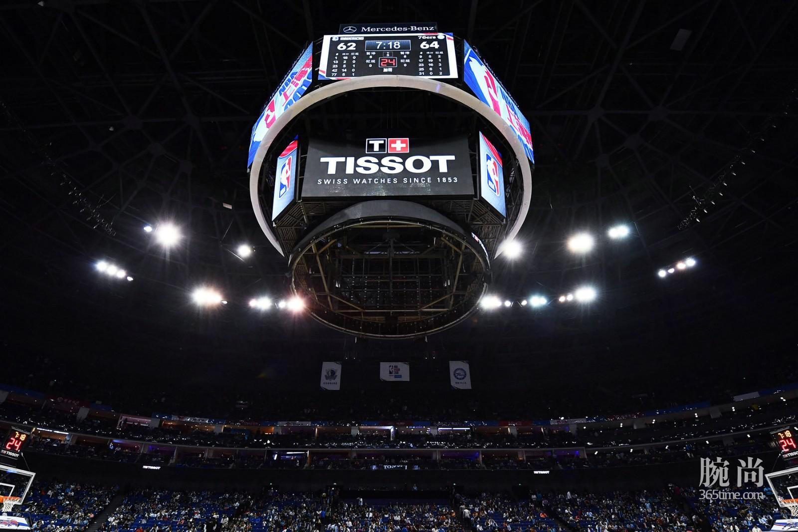 图1:天梭表以精准计时鼎力支持NBA中国赛上海站.jpg
