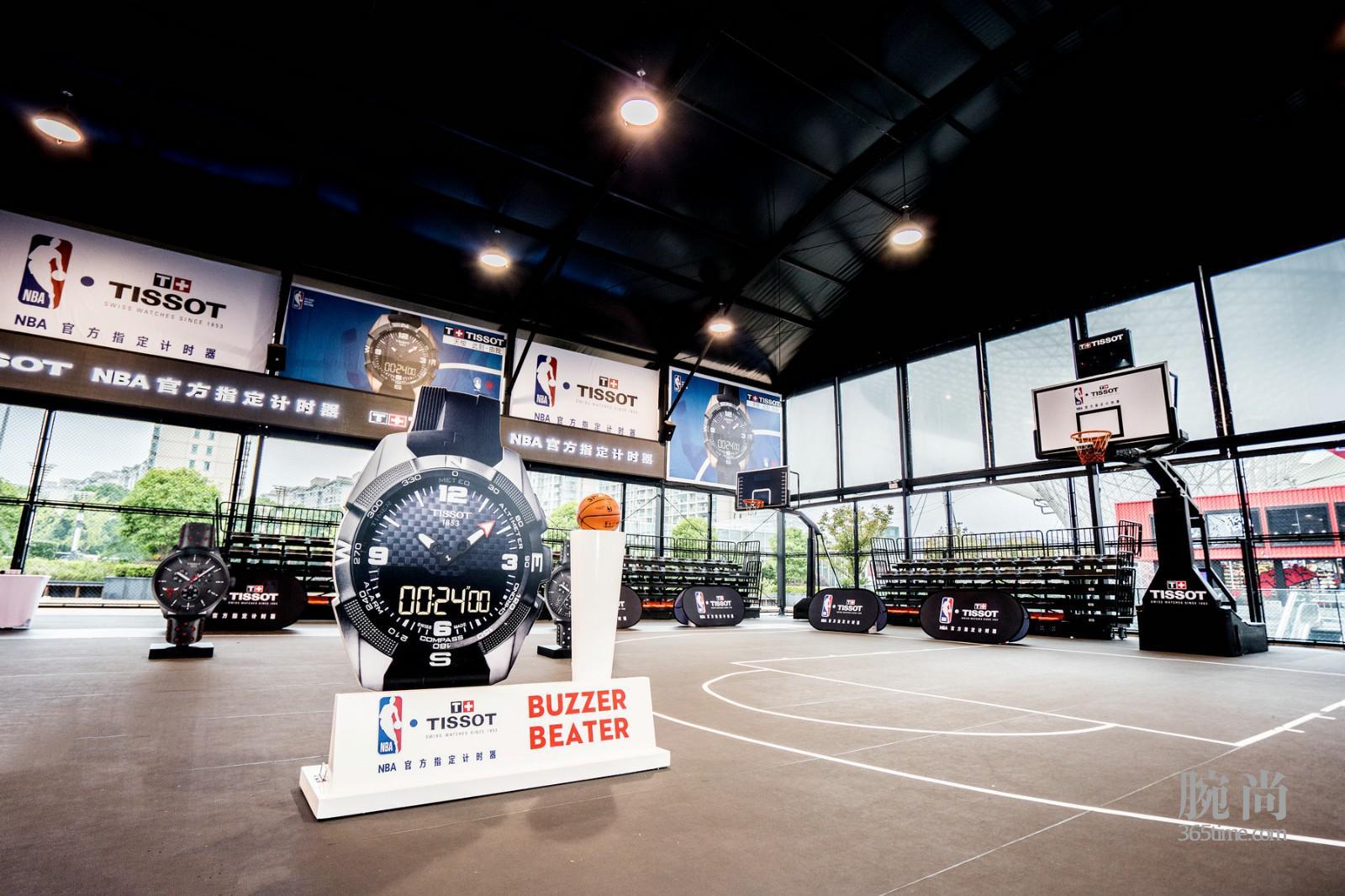 图 2:天梭表NBA球星训练营现场.jpg