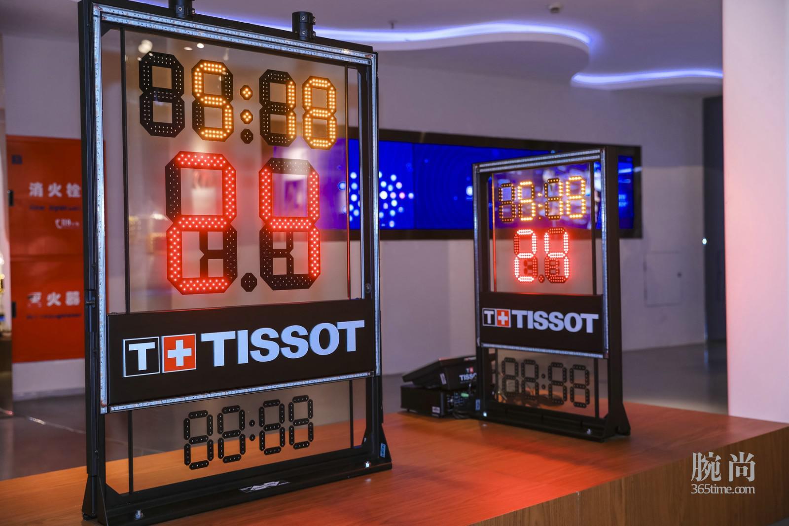 """图15:天梭表全新计时计分系统登陆""""NBA冠军主题展"""".jpg"""