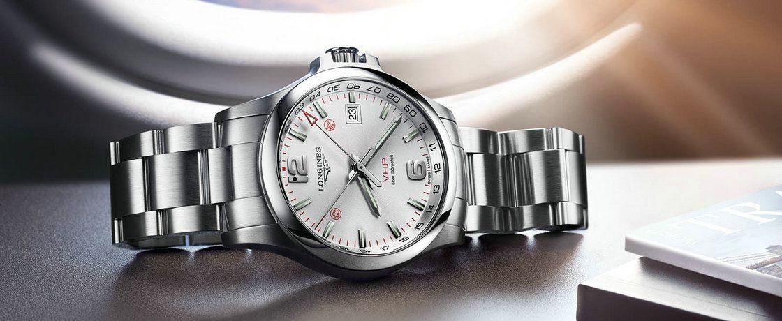 用闪光灯调时间?这波儿操作太秀了——浪琴康卡斯系列V.H.P. GMT Flash Setting腕表