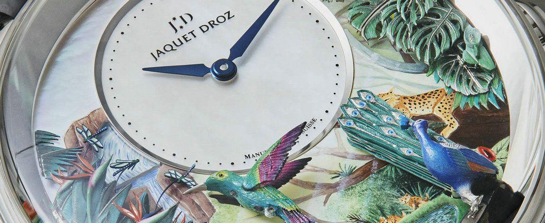 机械天堂——雅克德罗热带风情报时鸟三问表