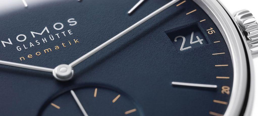 NOMOS 推出Orion neomatik 41 date腕表橄榄金与午夜蓝表款