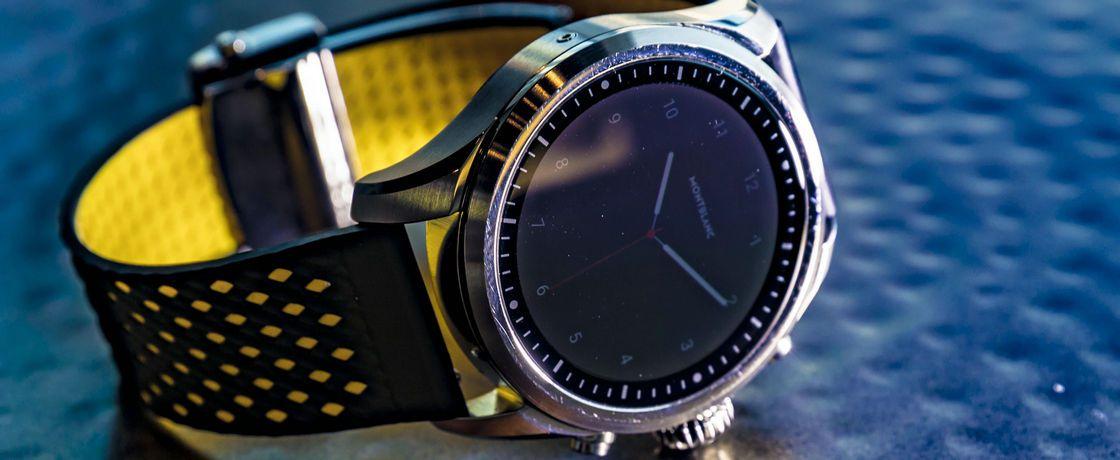 一款表带出10款的感觉——万宝龙Summit 2智能手表