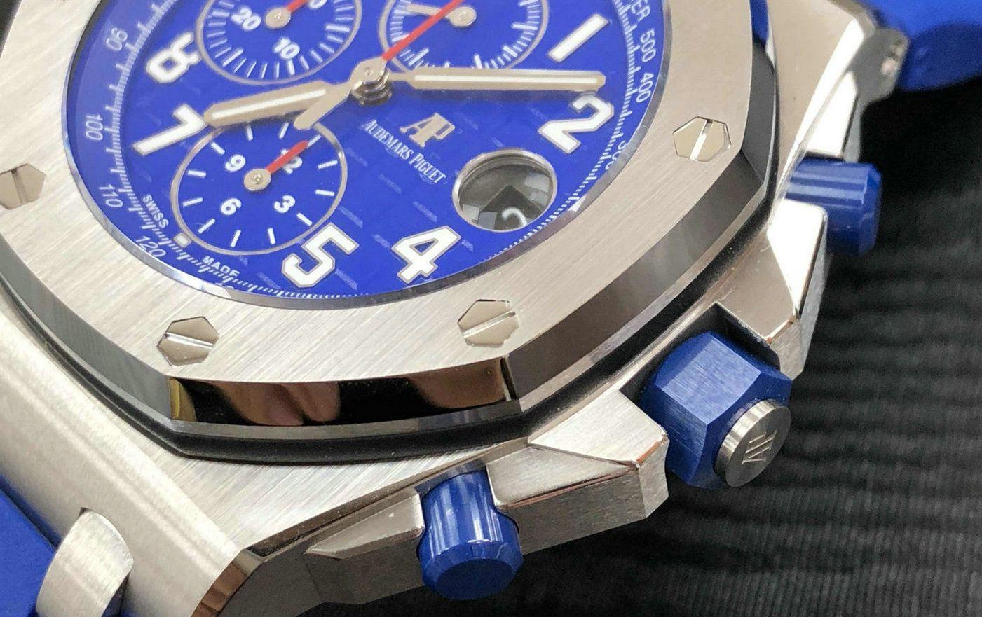 跳动的表盘色彩 品鉴爱彼皇家橡树离岸型腕表