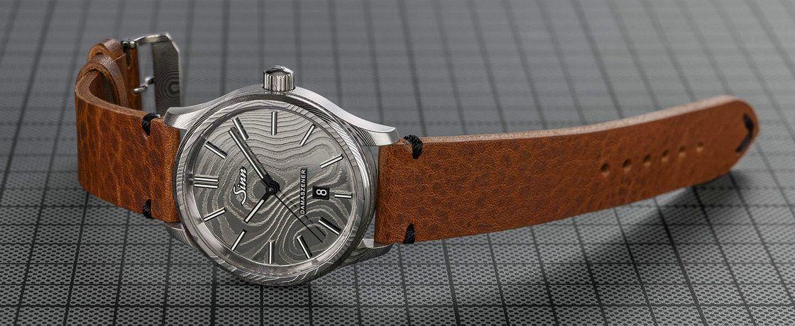 失传的美丽——Sinn辛恩1800 Damaszener大马士革钢腕表