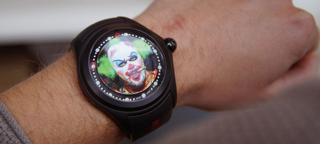 暗黑小丑 万圣狂欢 Corum昆仑表Bubble Clown泡泡小丑腕表
