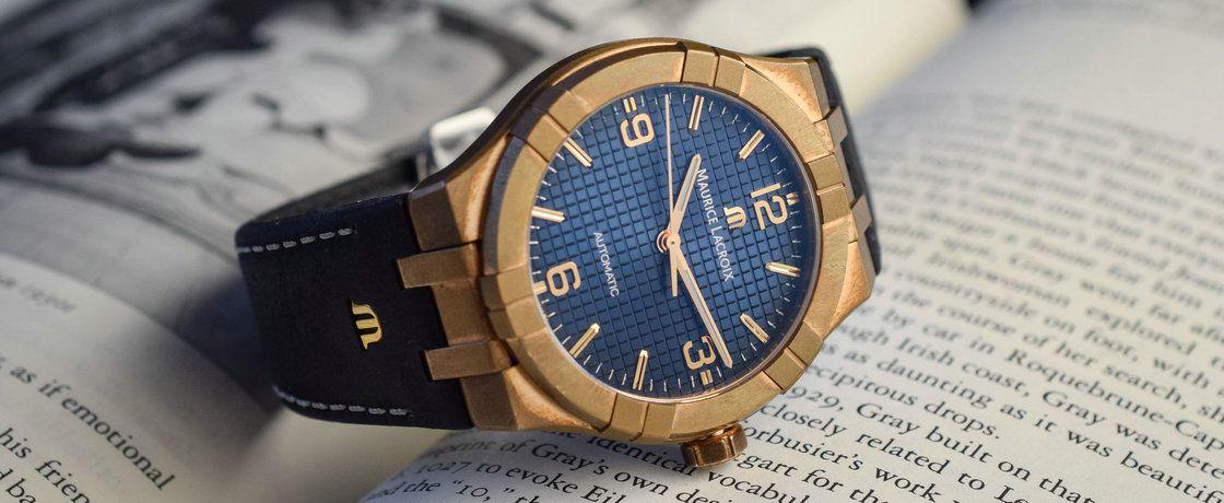 颜值炸裂——艾美Aikon系列青铜自动腕表