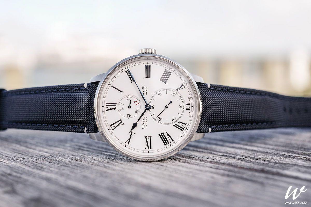 从鱼雷艇船员时计继承而来 雅典表发布美国海军领航者限量版腕表1183-320LE/40