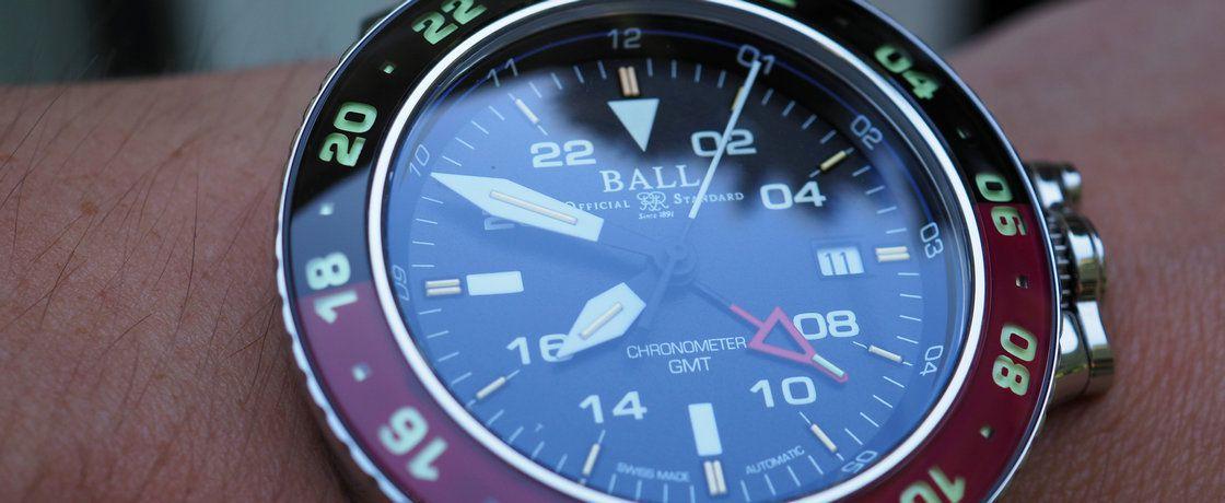可乐圈,百事盘——波尔工程师碳氢系列AeroGMT II腕表