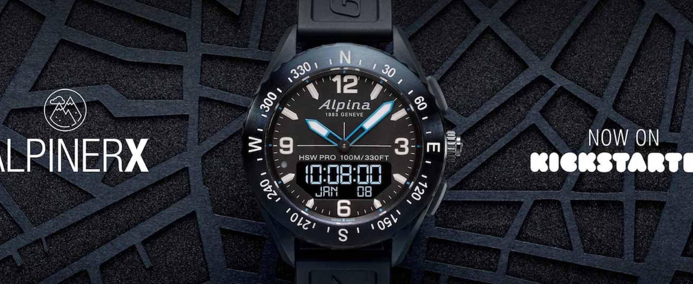 上山下海就带它 Alpiner艾沛勒Alpiner X智能手表