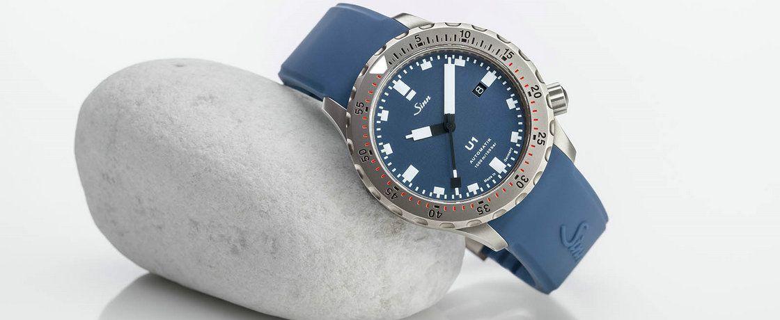 潜艇用钢造手表——Sinn辛恩U1 B潜水腕表