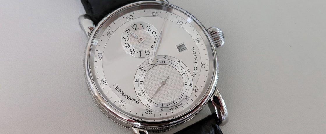 年轻还没有底蕴,却站稳了脚跟——瑞宝Regulator Classic Date规范指针腕表
