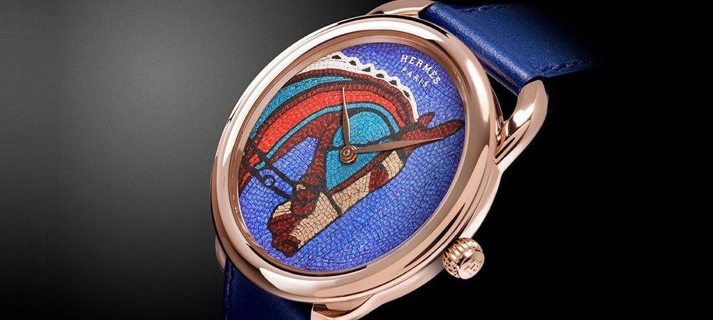 爱马仕Arceau Robe du Soir 腕表 - 2018年日内瓦高级钟表大奖最佳艺术工艺腕表
