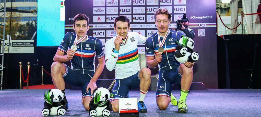 天梭表携手UCI于成都举办第二届都市自行车世锦赛