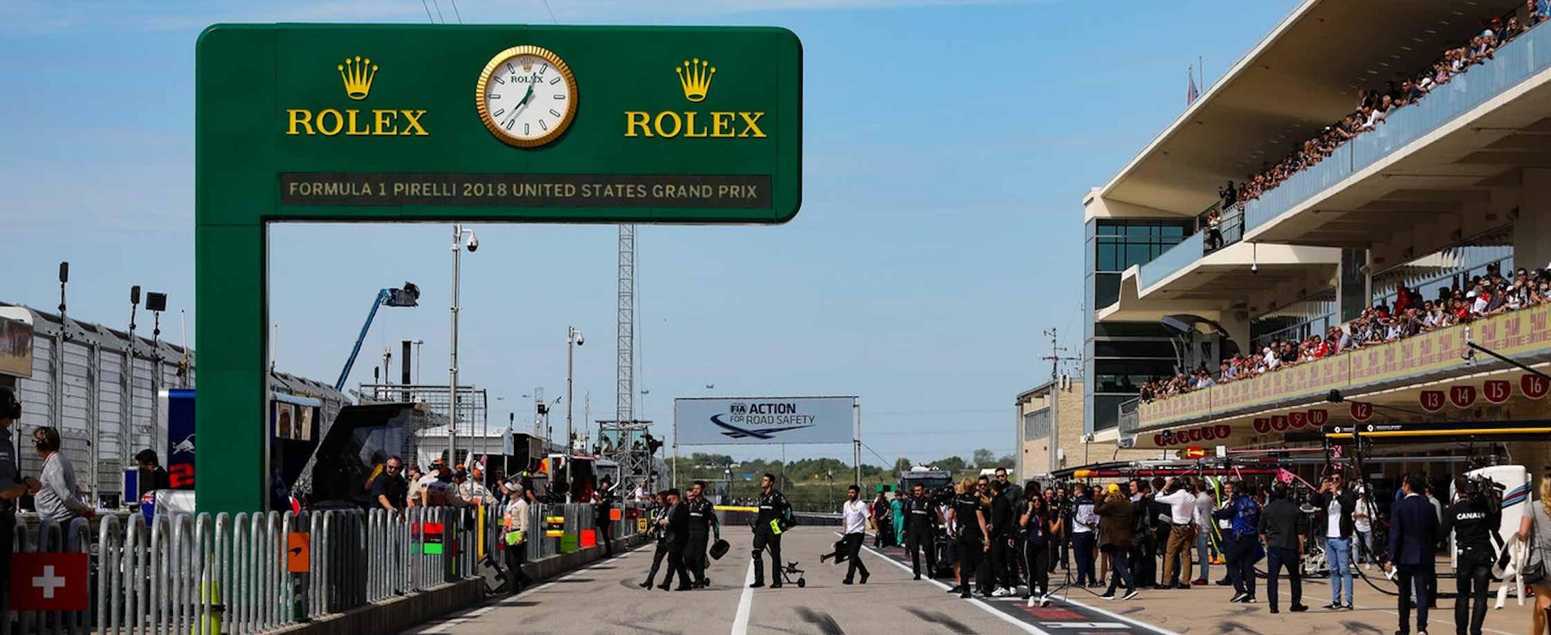 劳力士手表才是一级方程式赛车运动的最佳拍档