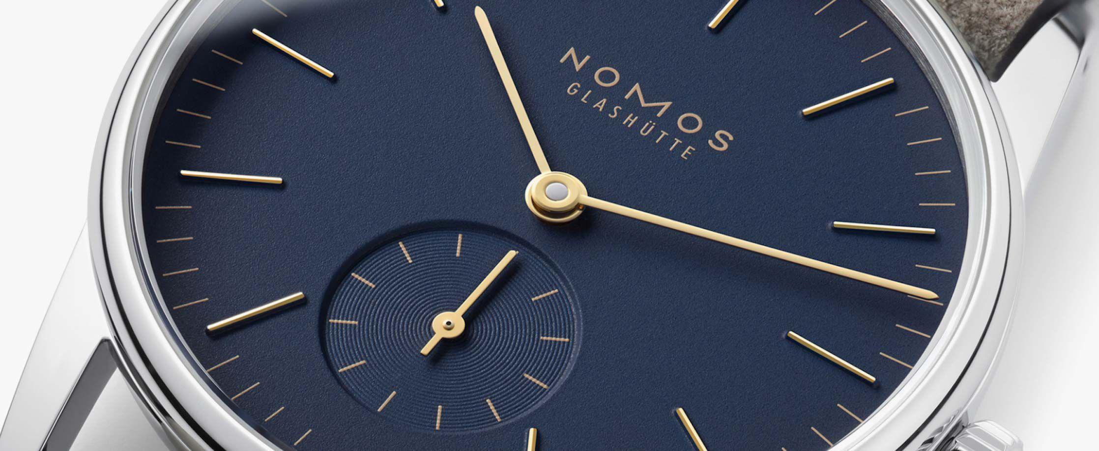 ORION系列家族再添新成员 NOMOS正式发布ORION猎户座38毫米和33毫米两款腕表