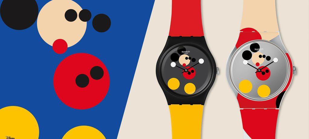 斯沃琪携手艺术家DAMIEN HIRST共同庆祝米奇诞生90周年