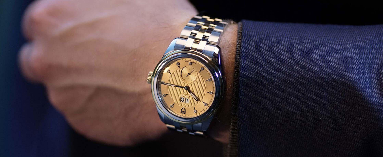 帝舵发布全新骏珏双位日历型42毫米腕表