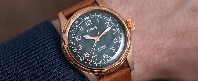 豪利时发布大表冠日期指针功能80周年纪念版腕表