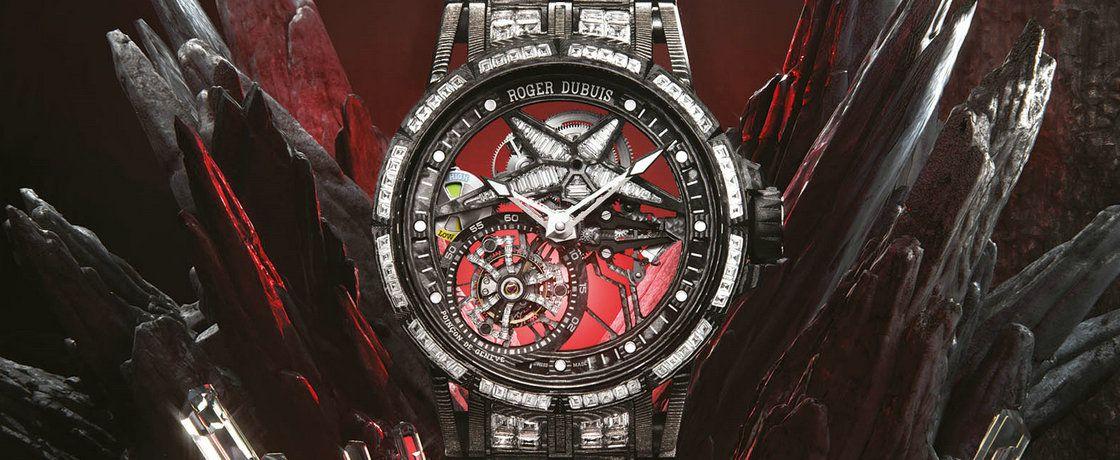 """碳与""""碳""""的结合——罗杰杜彼Excalibur Spider Ultimate Carbon腕表"""