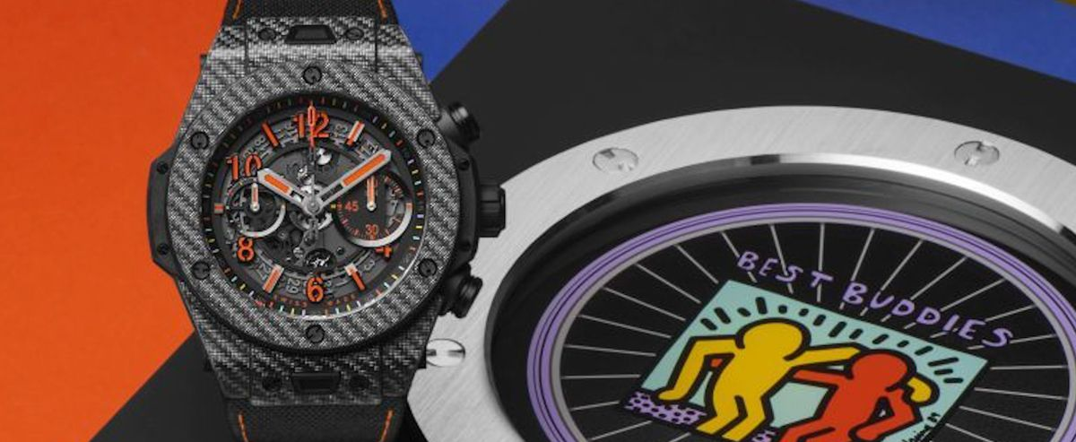 HUBLOT宇舶发布BIG BANG UNICO BEST BUDDIES限量版腕表
