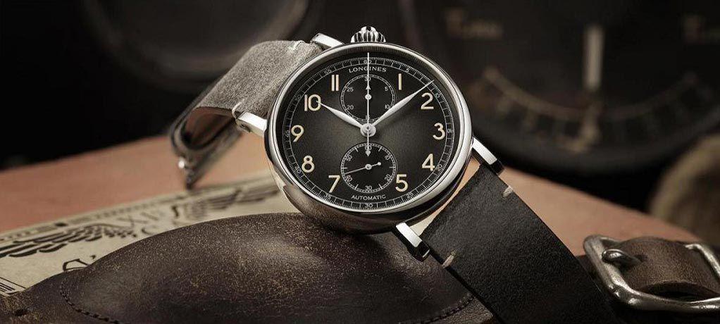 浪琴推出 Avigation Watch Type A-7 U.S.A. 美国限量版飞行员计时码表