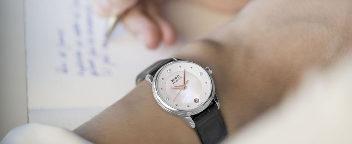 女性通勤腕表推荐 MIDO美度发布贝伦赛丽LADY DAY & NIGHT腕表 (M039.207.16.106.00)