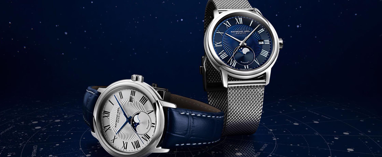 腕上璀璨恒星 蕾蒙威全新经典大师月相腕表
