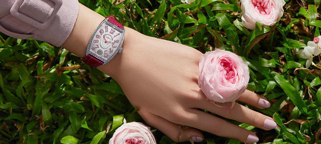 法穆兰彼爱丽钻石特别版腕表 分享对创新和美的热忱
