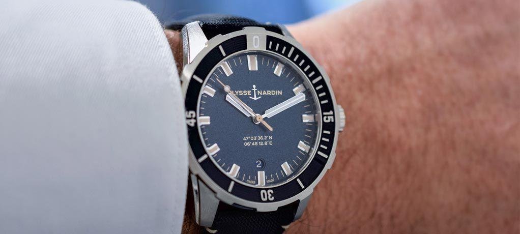 Ulysse Nardin雅典表推出全新42毫米Diver潜水表