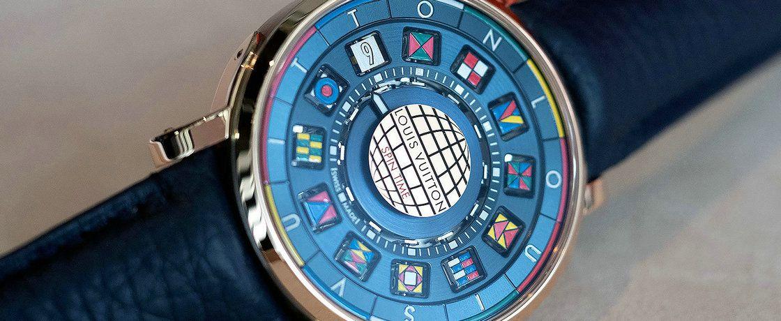 小时立方体——路易威登Escale Spin Time腕表