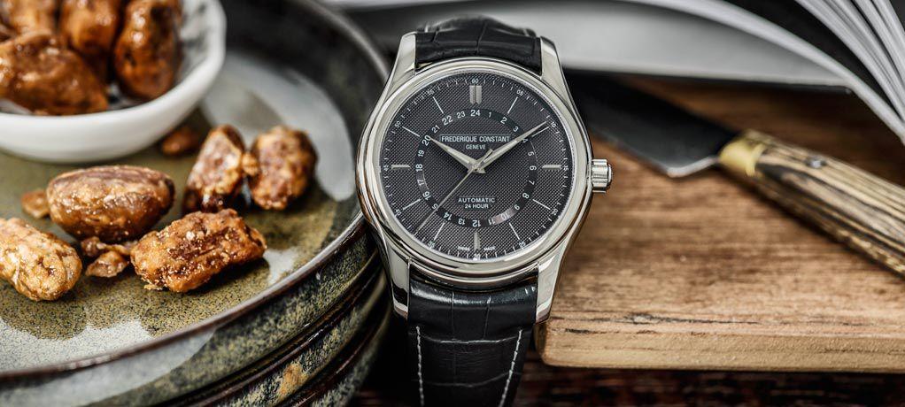 康斯登百年典雅系列家族再添24小时功能腕表
