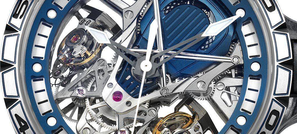 罗杰杜彼推出两款全新宝嘉尔蓝色限量腕表