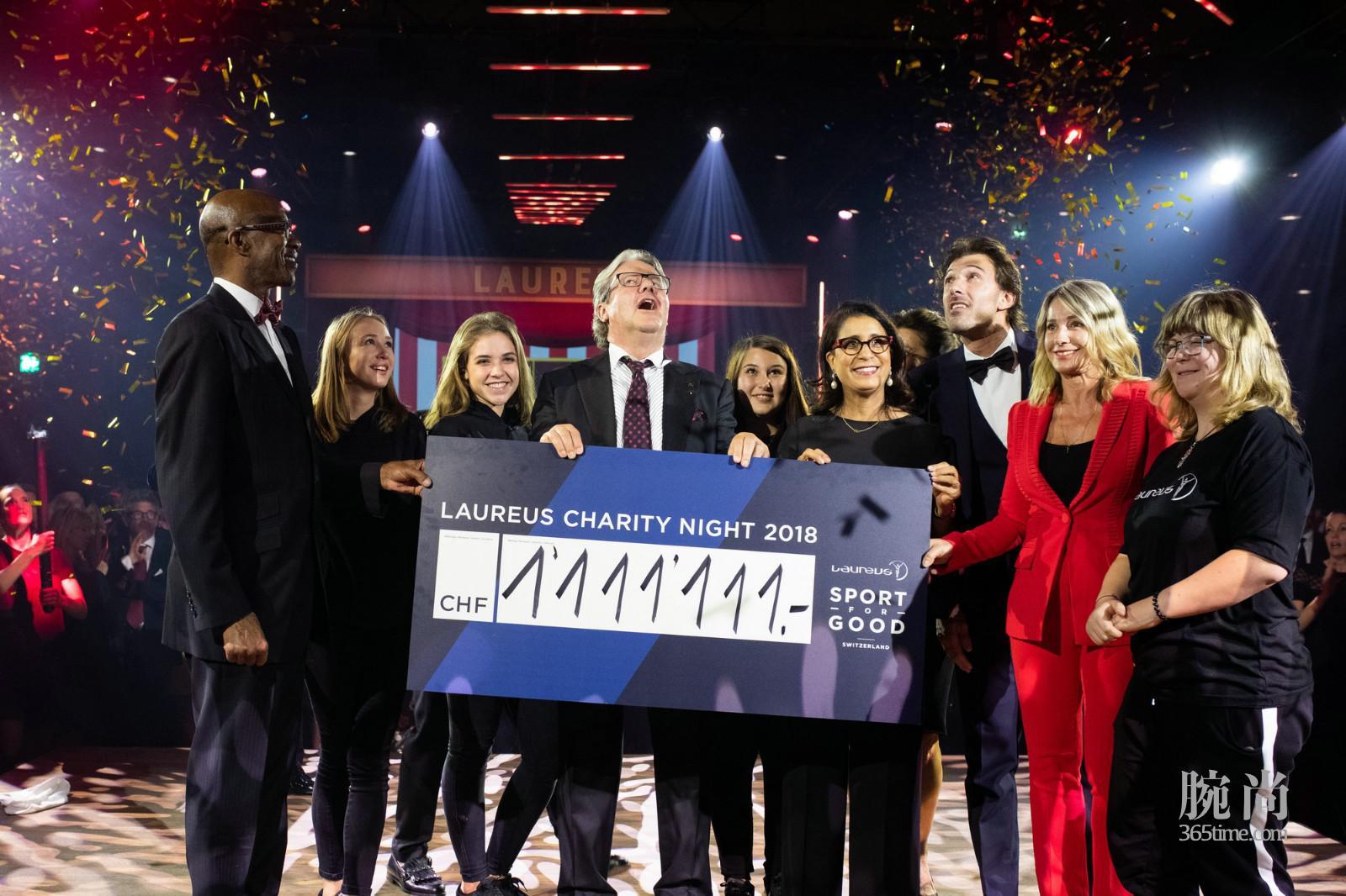 IWC万国表助力劳伦斯大家庭 为公益体育项目筹得1,111,111瑞郎_2.jpg