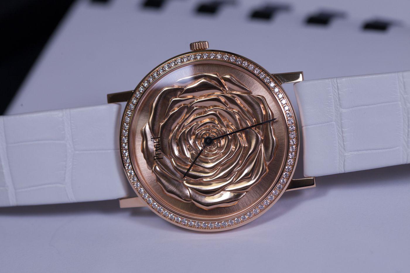 爱如玫瑰,情比金坚!——伯爵Altiplano系列G0A41190金玫瑰女表!