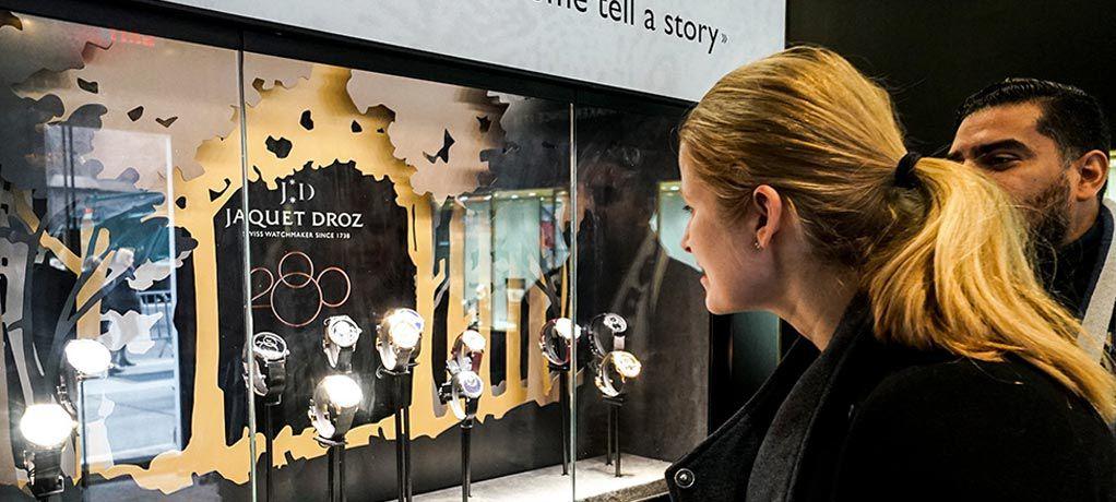 雅克德罗(JAQUET DROZ)限时体验店登陆纽约, 将品牌280周年庆祝活动推向最后的高潮