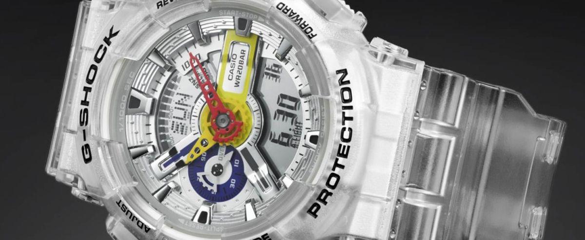 卡西欧G-SHOCK携手饶舌歌手A$AP Ferg 融合嘻哈元素「Diamond」打造全新腕表