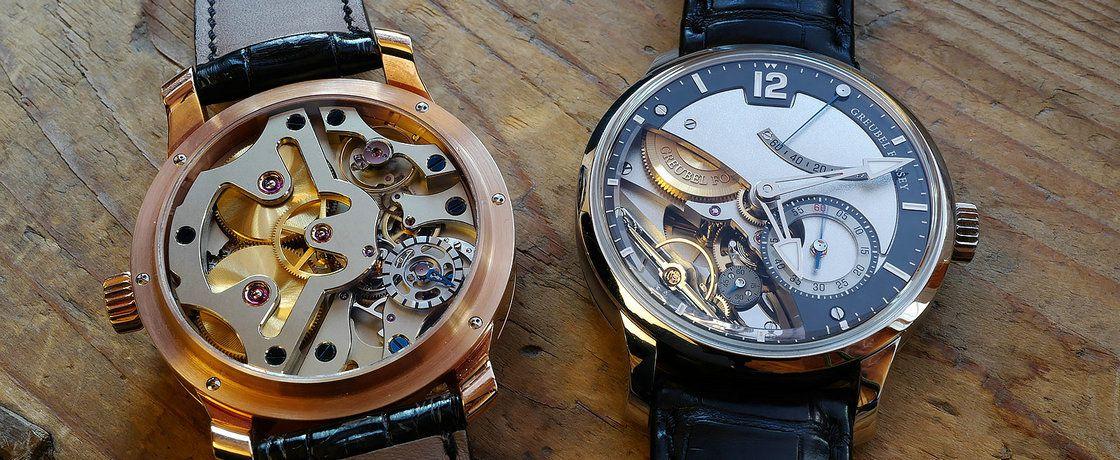 机械表的黄金纪元——高珀富斯Différentiel d'Égalité腕表