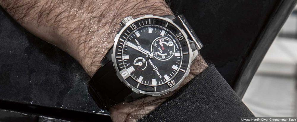 最适合男人戴的深海潜水表,雅典Diver天文台潜水表