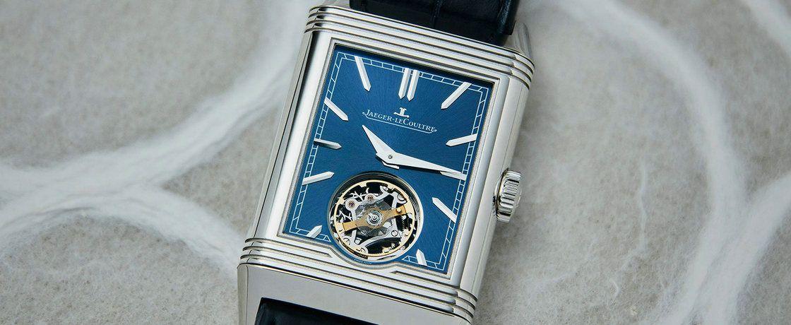 无趣的太多,但它是个例外——积家Reverso翻转系列Tribute Flying Tourbillon腕表