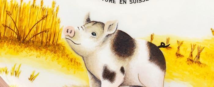 雅克德罗十二生肖手表之猪年款纪念手表来报到啦-Petite Heure Minute Pig腕表